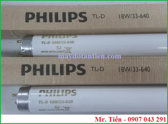 Bóng đèn Cool White Philips TL-D 18W/33-640 Made in Poland