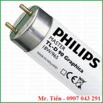 Bóng đèn D65 6500K hãng Philips, Gretagmacbeth, Vervide, Sylvania, Osram