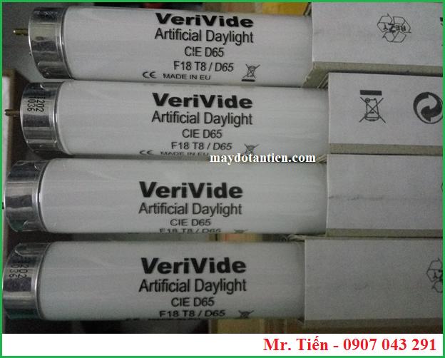 Bóng đèn D65 6500K Vervide Artificial DayLight CIE D65 F18T8/D65