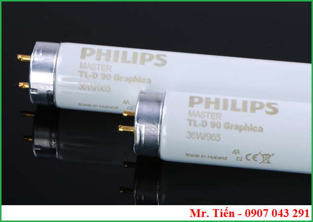 Bóng đèn Philips Master TL-D 90 Graphica 36W/965 Made in Holland D65 Light