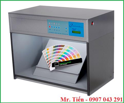 Buồng 4 nguồn sáng kiểm tra màu sắc thực của vải, sơn, nhựa, giấy