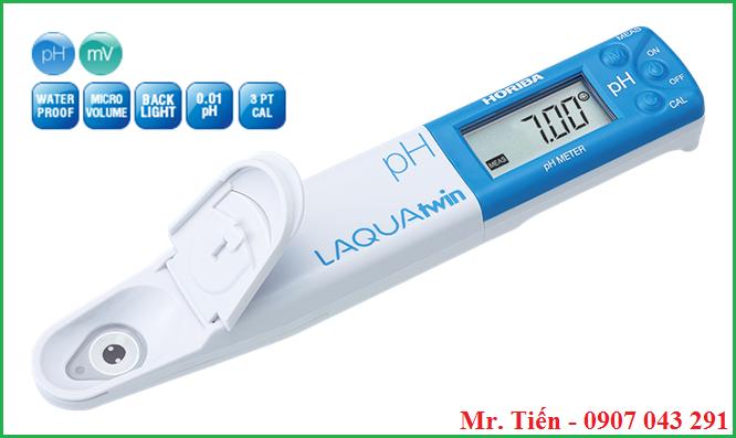 Bút đo LAQUAtwin pH meter pH 22 hãng Horiba