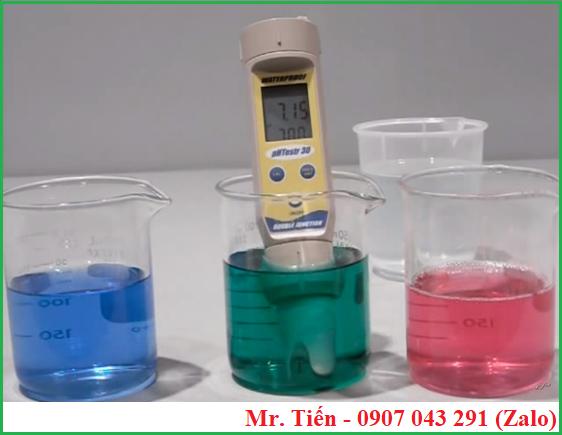 Bút pHTestr 30 nhận diện chất chuẩn và hiệu chuẩn máy nhanh chóng
