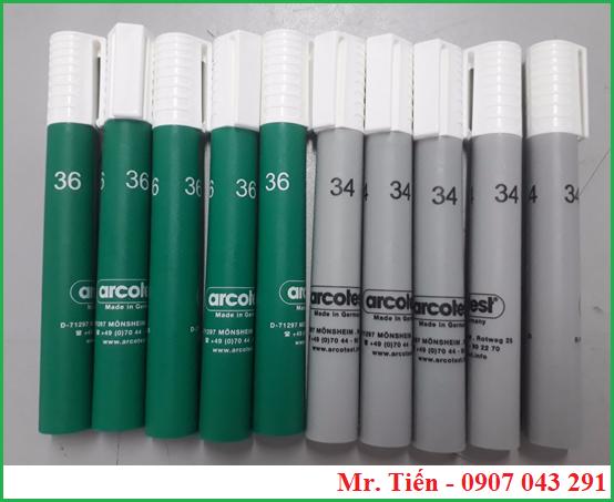 Bút thử màng nhựa Corona 34, 36 dyne hãng Arcotest Germany