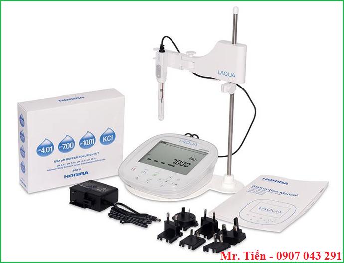 Cung cấp bao gồm của máy đo pH nước 3 số lẻ Horiba Nhật Bản