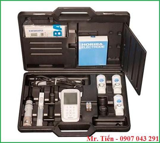Cung cấp bao gồm của máy đo pH và Oxy trong nước thải PD110 Horiba