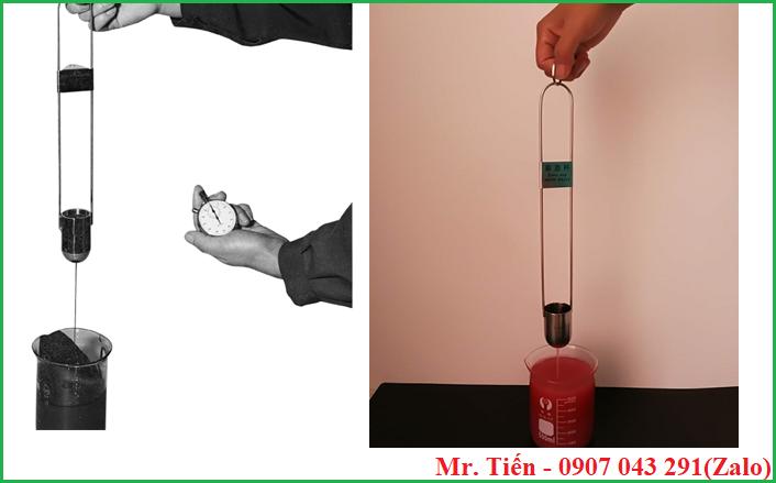 Đo độ nhớt mẫu nhanh chóng, dễ dàng bằng Rigosha Cup