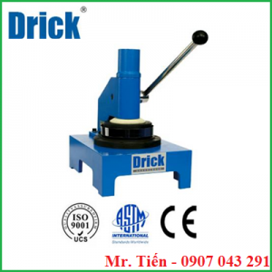 Dụng cụ cắt mẫu tròn 100 cm2 (Circle sample cutter / Paper Grammage Meter) DRK 114C hãng Drick