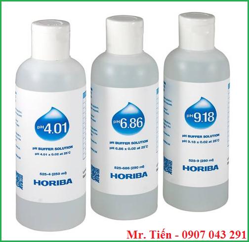 dung dịch hiệu chuẩn máy đo pH 4.01/6.86/9.18 hãng Horiba Nhật Bản