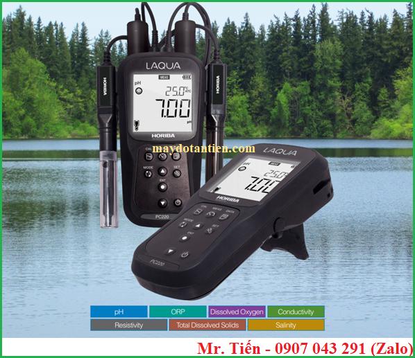 Electrode 9383-10D Conductivity đi với máy đo đa chỉ tiêu nước cầm tay LAQUA Horiba