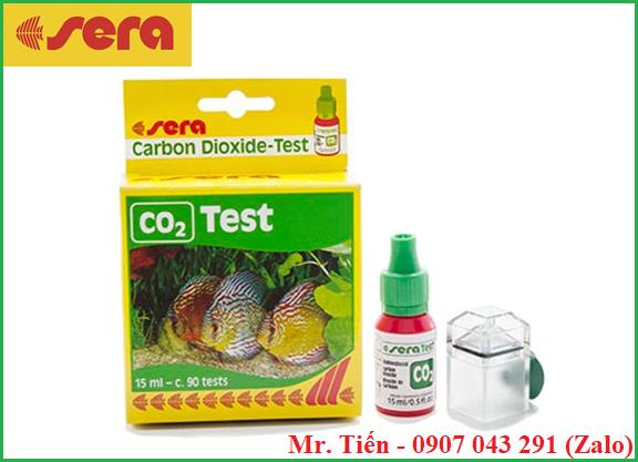 Hộp test kiểm tra hàm lượng khí Cacbonic CO2 trong nước hãng Sera