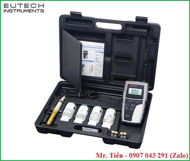 Máy cầm tay đo độ mặn của nước Thermo Scientific Eutech Salt 6+