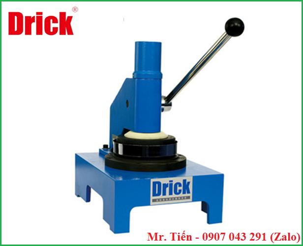 Máy cắt mẫu giấy bìa cát tông hình tròn (Circle Sample Cutter) DRK 114C hãng Drick