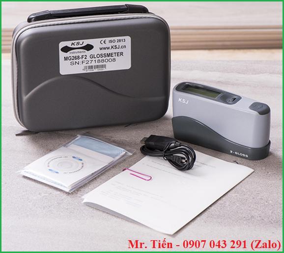 Máy đo độ bóng 3 góc (Gloss meter) MG268-F2 hãng KSJ
