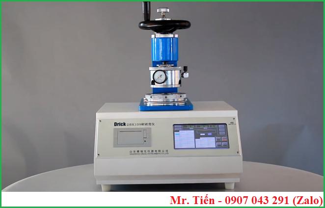 Máy đo độ bục giấy Carton (Paper Bursting Strenght Tester) DRK 109A hãng Drick