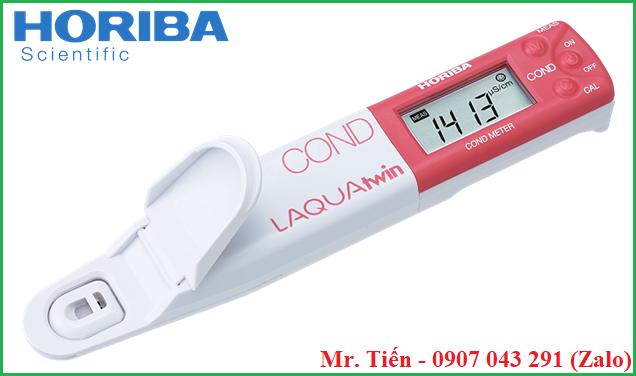 Máy đo độ dẫn điện Electrical Conductivity EC 11 Horiba Nhật Bản siêu bền