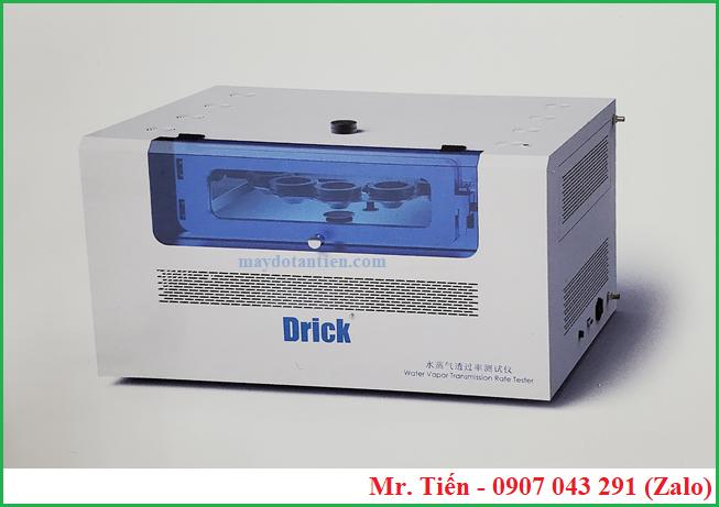 Máy đo độ thẩm thấu hơi nước qua màng bao bì (Water Vapor Permeability Tester) DRK 310 Drick