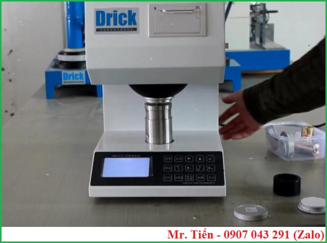 Máy đo độ trắng của giấy gốm sứ bao bì (Whiteness meter) DRK 103A hãng Drick