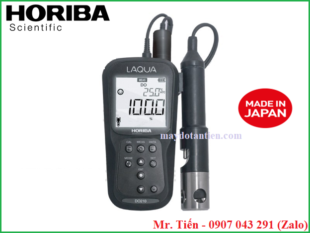 Máy đo Oxy hòa tan trong nước DO (Dissolved Oxygen) LAQUA DO210 Horiba Nhật Bản
