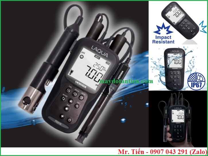 Máy đo Oxy hòa tan và pH trong nước thải PD210 hãng Horiba (Nhật Bản)