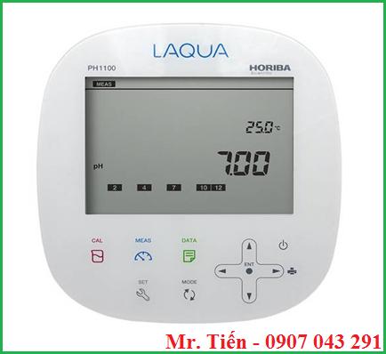 Máy đo pH để bàn phòng thí nghiệm pH 1100 Horiba Nhật Bản