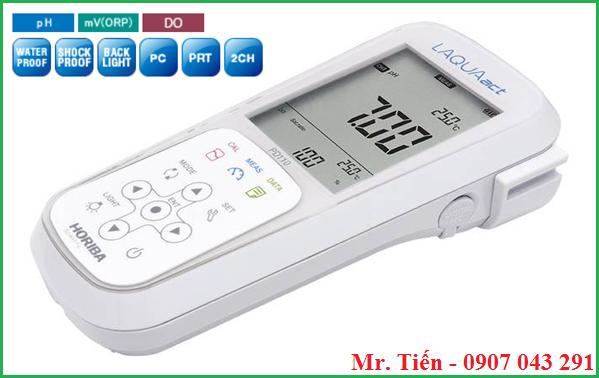 Máy đo pH và Oxy trong nước thải PD110 Horiba Nhật Bản