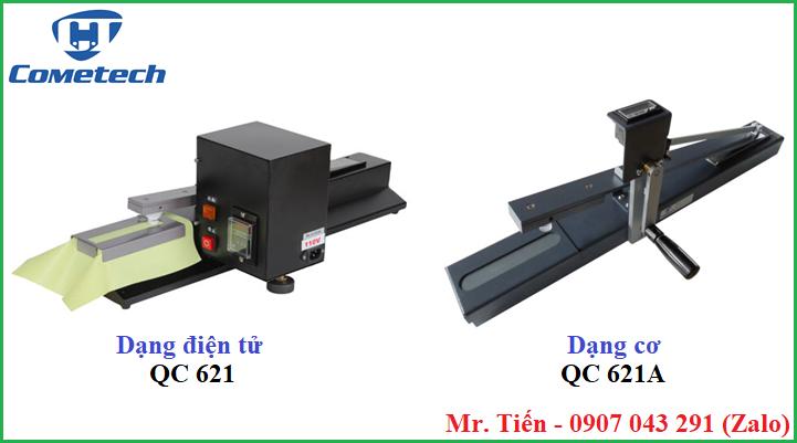 Máy kiểm tra độ bền vải chống phai màu ma sát QC 621 và QC 621A hãng Cometech