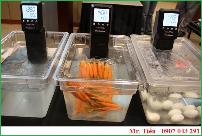 Máy MX PolyScience dùng để nấu Sous Vide