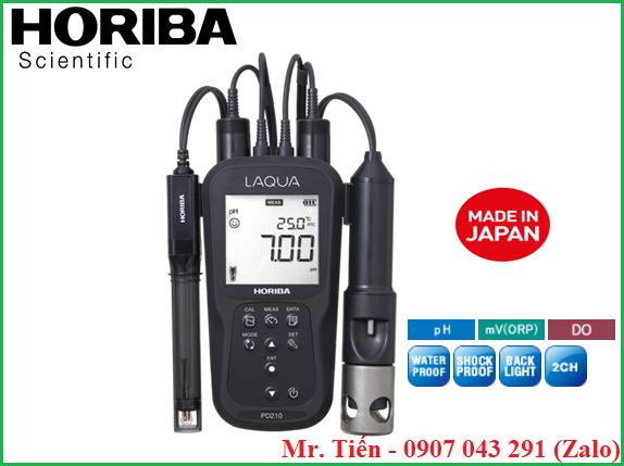 Thông số kỹ thuật của máy đo Oxy hòa tan và pH trong nước thải PD210 Horiba