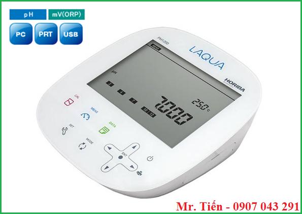 Thông số kỹ thuật của máy đo pH nước 3 số lẻ Horiba Nhật Bản