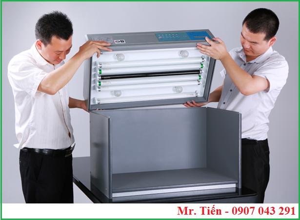 Thông số kỹ thuật của tủ Tilo và bóng đèn so màu trong tủ T60(5)