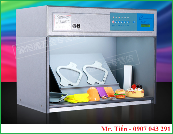Tủ ánh sáng chuẩn xem màu vải T60(5) hãng Tilo