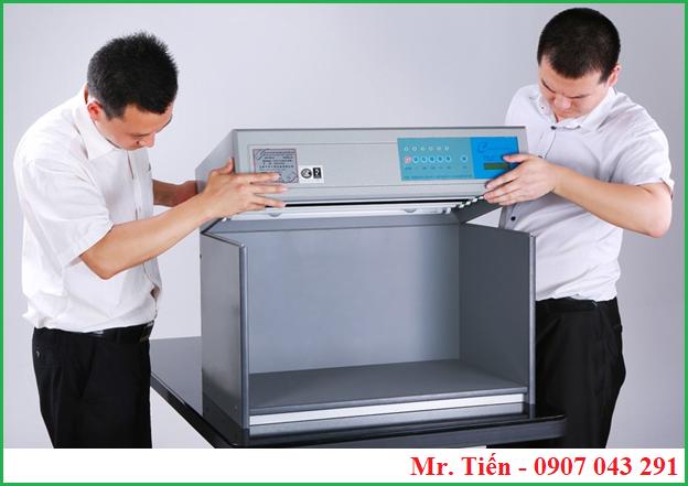 Tủ so màu vải giá rẻ T60(5) có thiết kế dạng rời